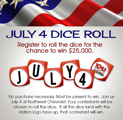July 4th Dice Roll