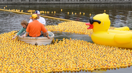 Delaware Humane Association Duck Race