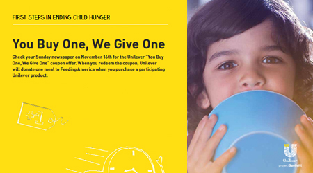 Unilever End Childhood Hunger